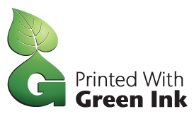 green ink color logo