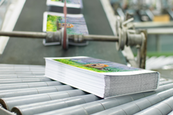 booklets being printed