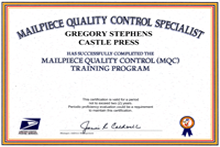 usps certificate