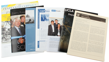 UCLA newsletters