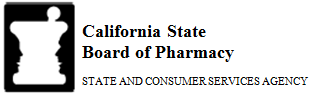 California State Board of Pharmacy logo