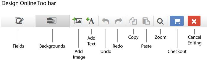 design online toolbar